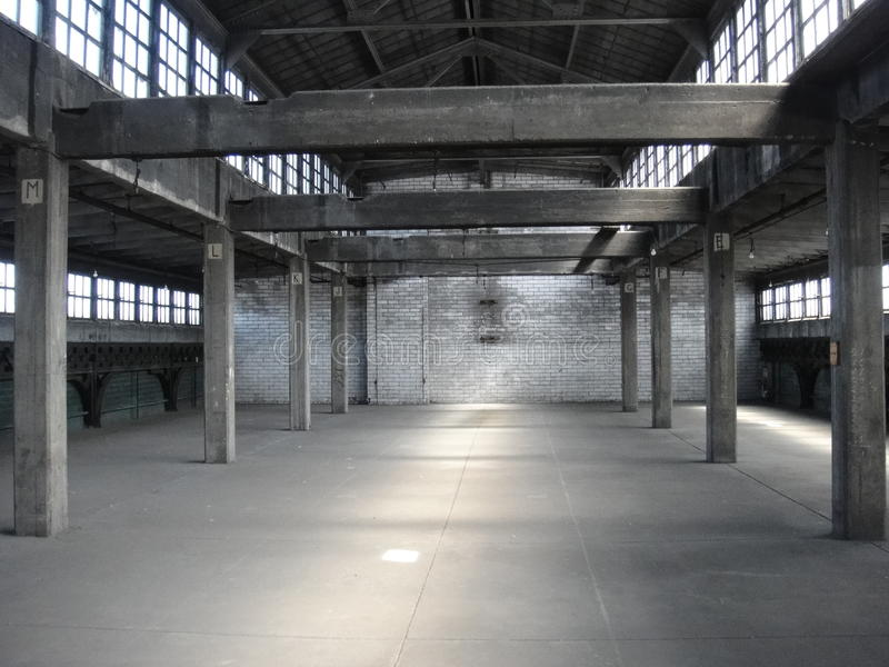 Abandoned Factory stock photography