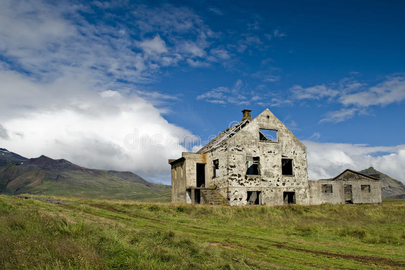 Download Abandoned farm in Iceland stock image. Image of house - 15824921