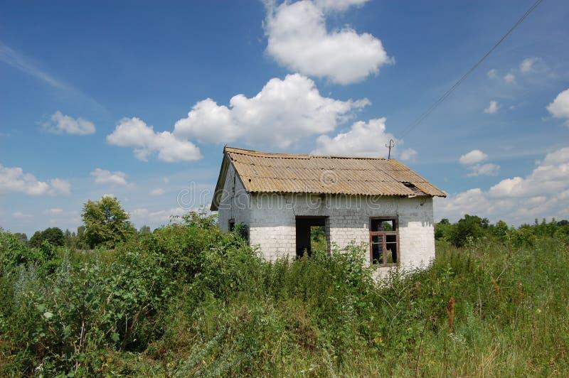 Abandoned farm. Near Chernobyl area.  Kiev region