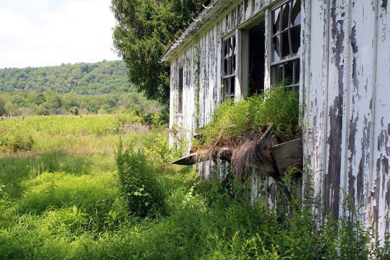Abandoned Farm. Land farmhouse in Pennsylvania royalty free stock images