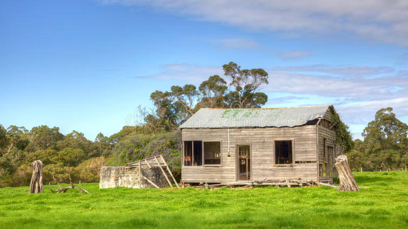 Abandoned farmhouse stock image image of area farm for Landscapers adelaide western suburbs
