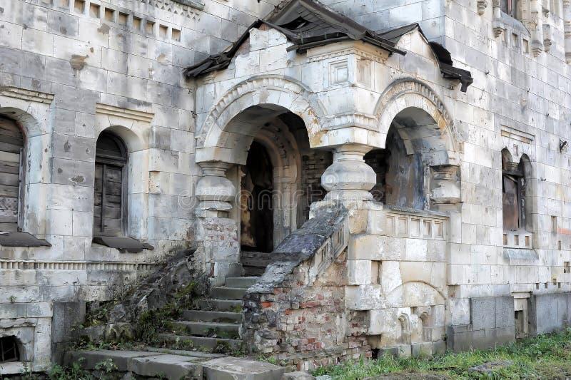 Abandoned Feodorovsky gorodok in Tsarskoye Selo, St.Petersburg, stock images