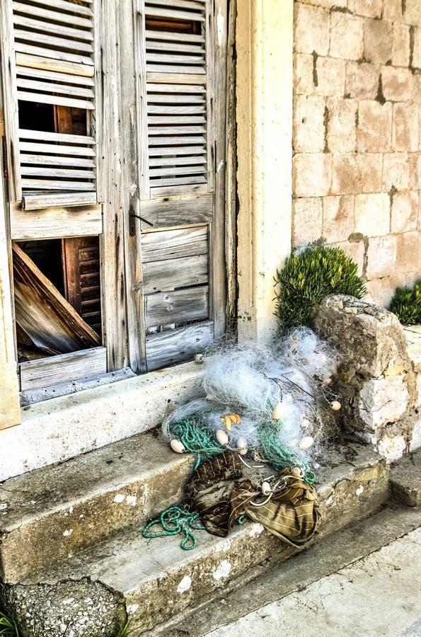 Abandoned fisherman house royalty free stock photo