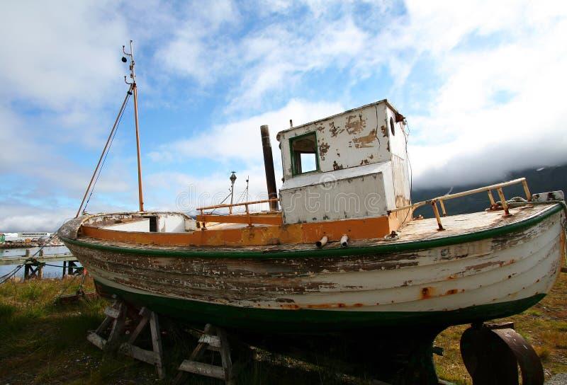 Abandoned Fishing Boat Royalty Free Stock Image