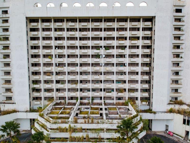 Abandoned hotel , Penang, Malaysia stock images