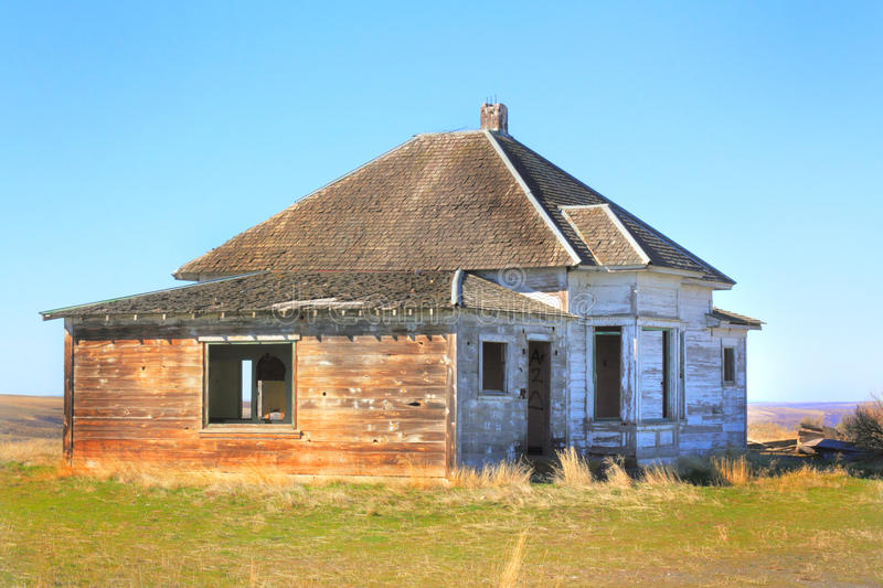 Abandoned Frontier House royalty free stock images