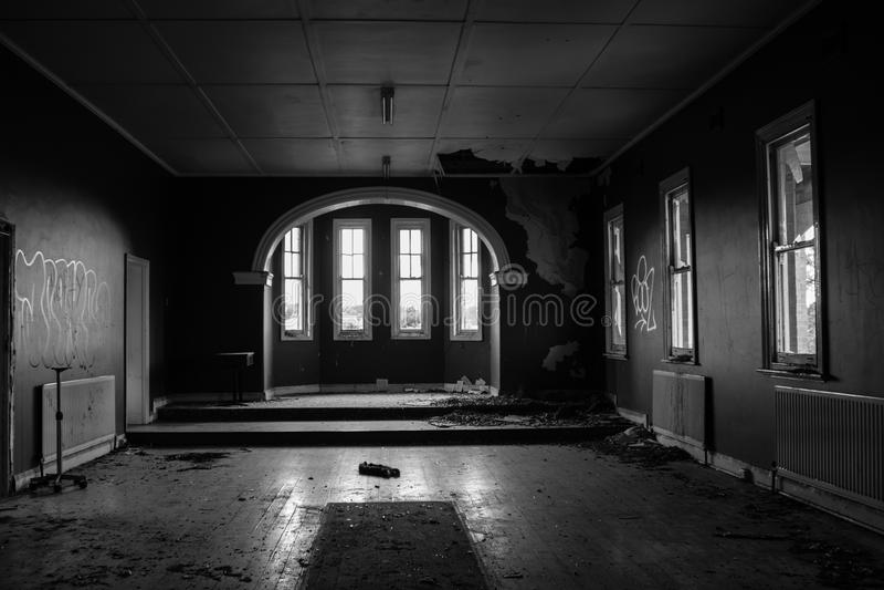 Abandoned Haunted House stock photography