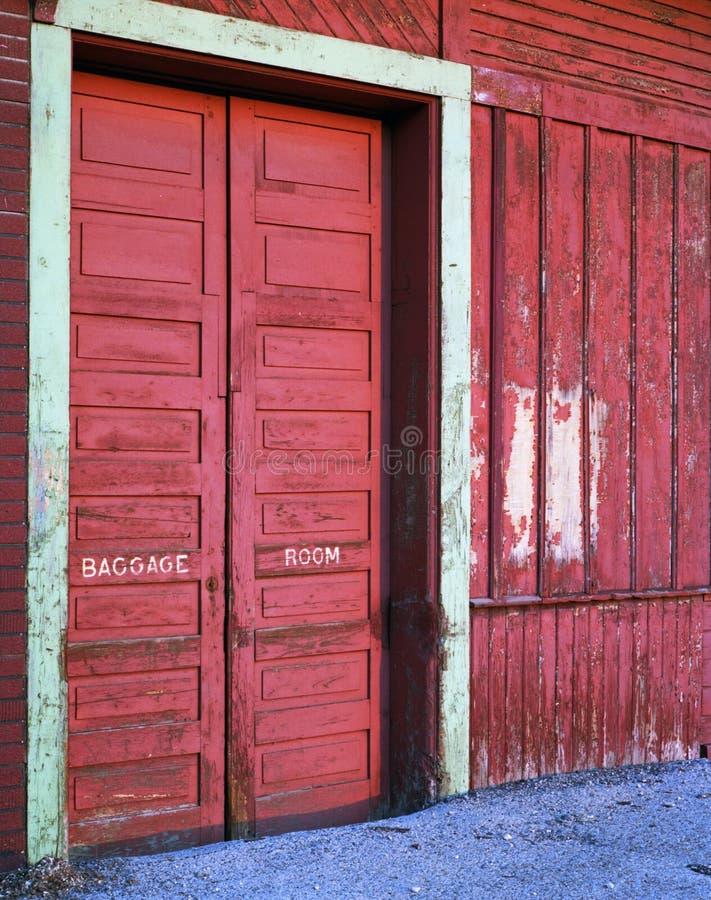 Abandoned Hespler Railway Station stock photo