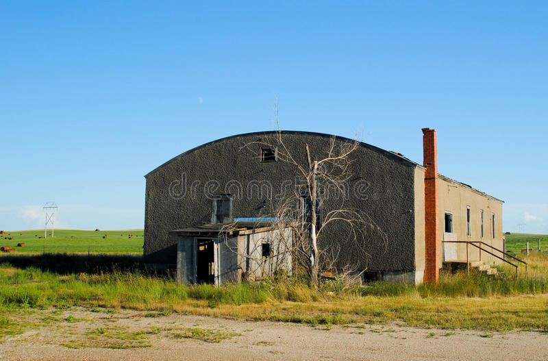 Download Abandoned Historic Building Stock Image - Image: 21372221