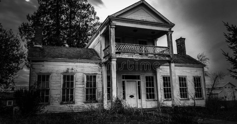 Abandoned home in Oregon outside of Woodburn royalty free stock image