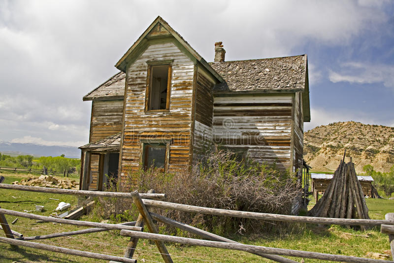 Abandoned Homestead stock images