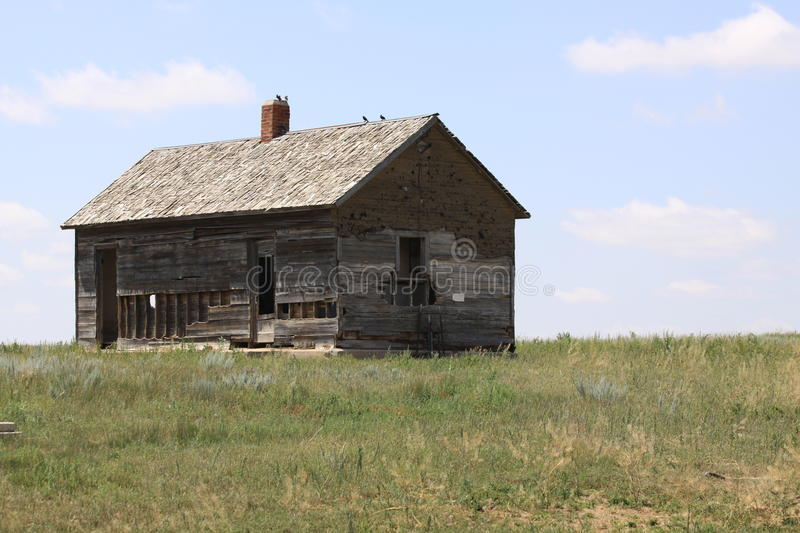 Abandoned Homestead stock photo