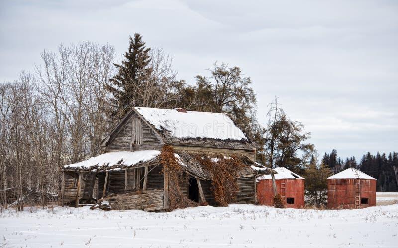 Abandoned homestead stock image