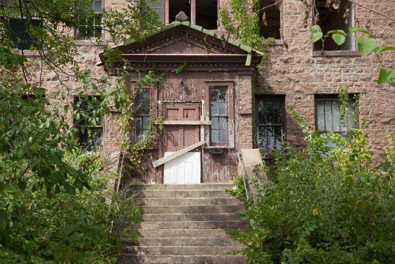 Abandoned Hospital royalty free stock photo