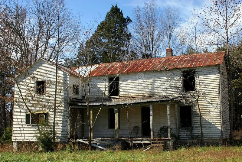 Download Abandoned House stock photo. Image of condemned, shabby - 1532676