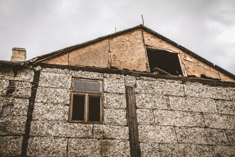 An abandoned house royalty free stock images