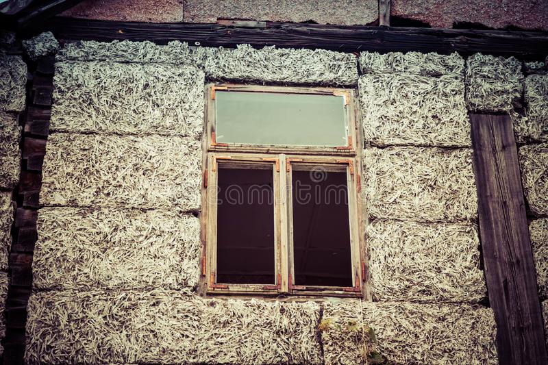 An abandoned house royalty free stock photos