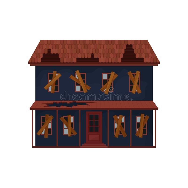 Cartoon Abandoned House Stock Illustrations – 273 Cartoon Abandoned