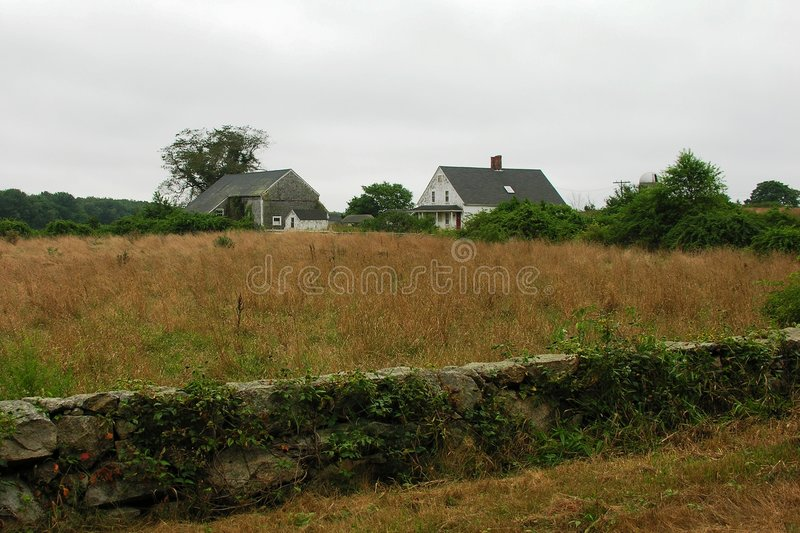 Abandoned house and farm. Abandoned house and farm inm New England stock images