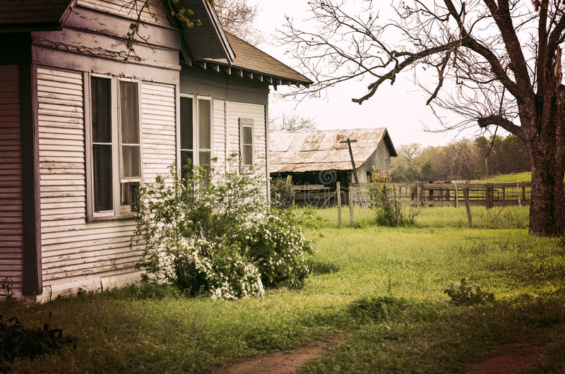 Abandoned House & Farm in East Texas royalty free stock photos
