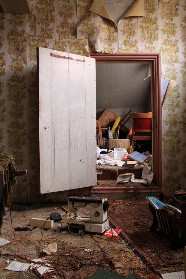 Download Abandoned House Interior Detail Editorial Stock Image - Image: 21897534