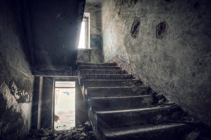 Abandoned house royalty free stock images