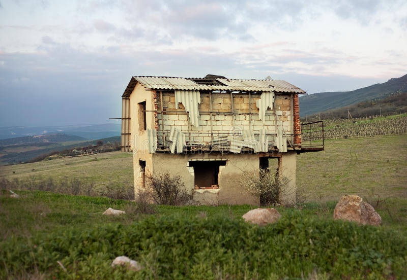 Download Abandoned House In State Of Disrepair Stock Photo - Image: 29696722