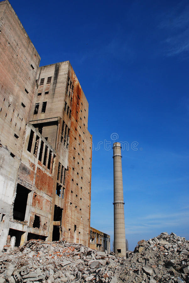 Download Abandoned Industrial Buildings Stock Photo - Image: 13539412