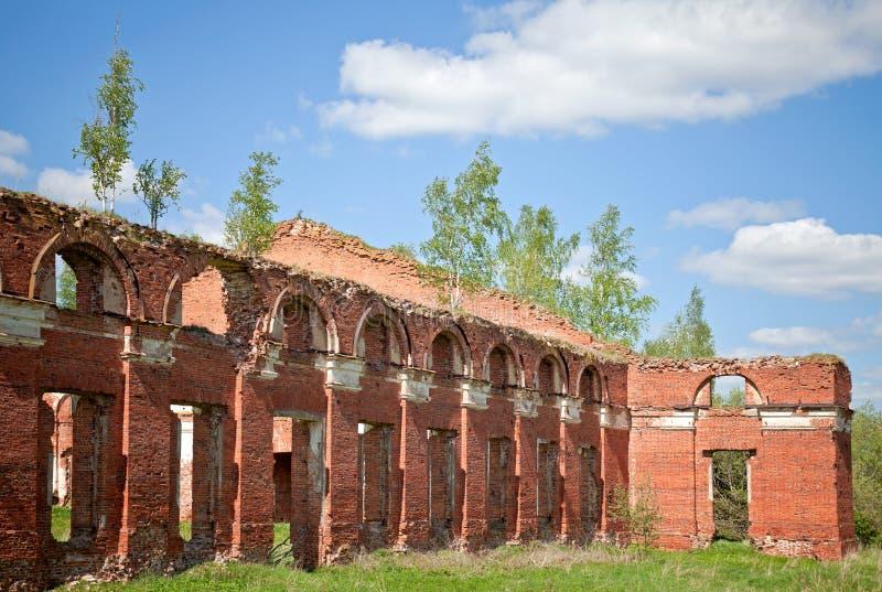 Download Abandoned Landmark, Brick Walls Stock Photo - Image: 25299096