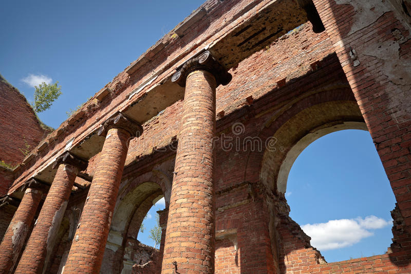 Download Abandoned Landmark: Old Military Quarters Stock Image - Image: 25299115