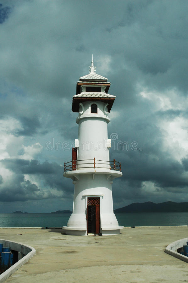 Download Abandoned lighthouse stock photo. Image of building, east - 12923848