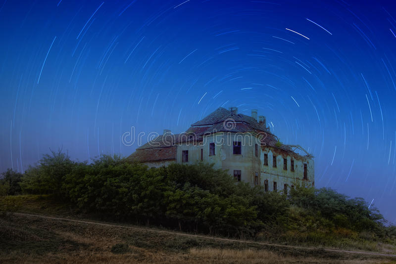 Abandoned mansion royalty free stock photography