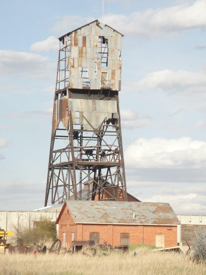 Abandoned Mine Site royalty free stock photo
