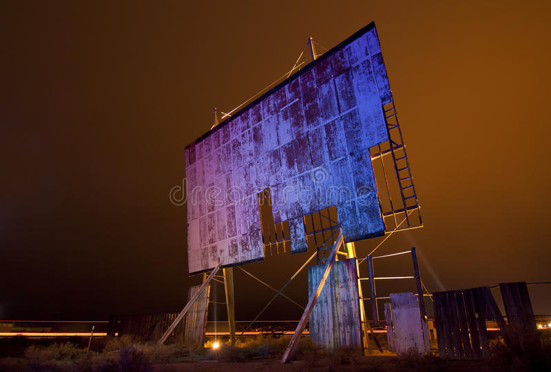 Download Abandoned Movie Screen Royalty Free Stock Photography - Image: 24348887
