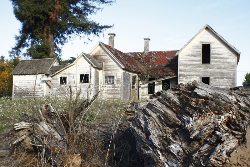 Download Abandoned old house stock image. Image of real, wood, eerie - 6981581