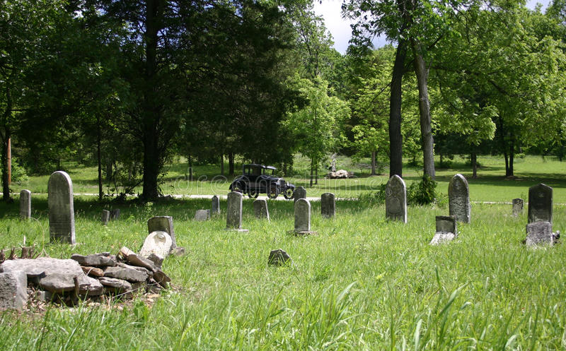 Abandoned Overgrown Cemetery