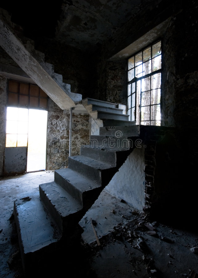 Abandoned place stock images