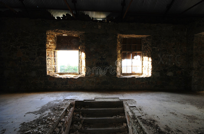 Abandoned place royalty free stock photography