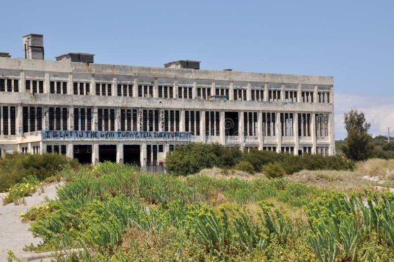 Abandoned Powerhouse in Fremantle, Western Australia royalty free stock photo