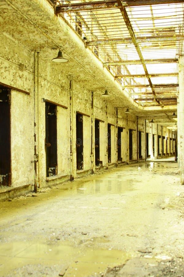 Abandoned prison stock photos