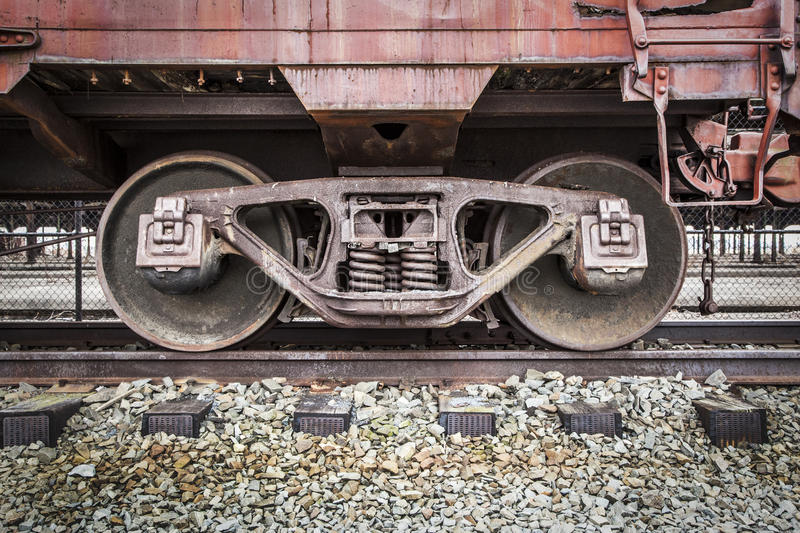 Download Abandoned Rail Yard - Details Stock Image - Image of tracks, freight: 36983335