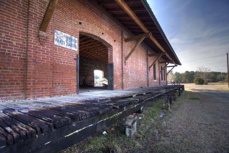 Abandoned Railroad Depot Royalty Free Stock Image