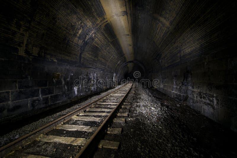 Abandoned Railroad Tunnel - Pennsylvania. A view of an abandoned railroad tunnel for the Baltimore and Ohio Railroad near Washington, Pennsylvania royalty free stock photography