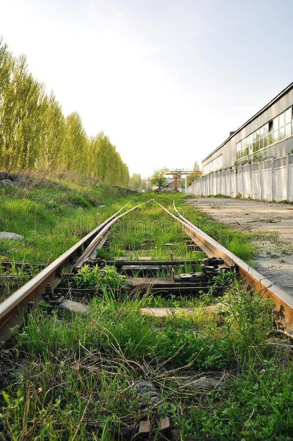 Download Abandoned rails stock image. Image of building, wall - 26691415