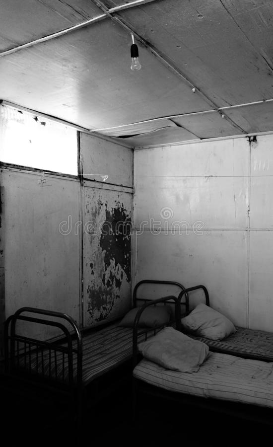 Abandoned room royalty free stock photography