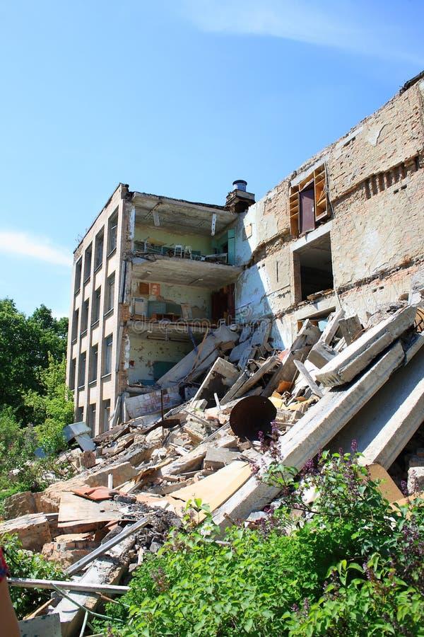 Free Abandoned School In Pripyat City Stock Photo - 31434110