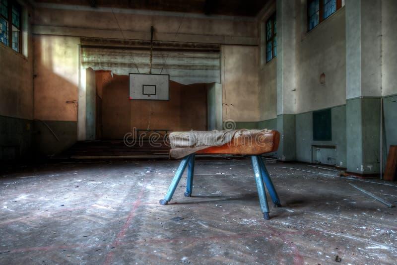 Abandoned school royalty free stock image