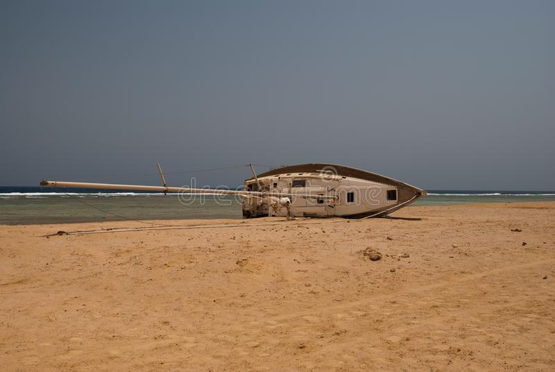 Abandoned ship wreck