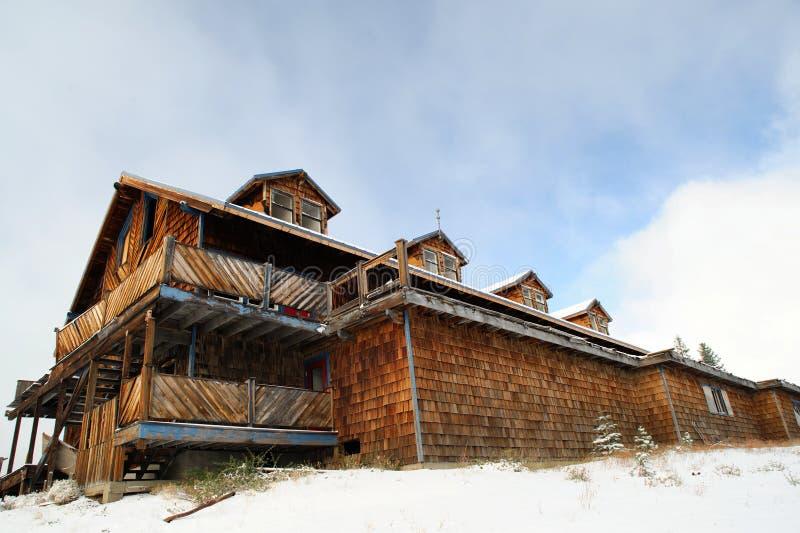 Abandoned Ski Resort stock image