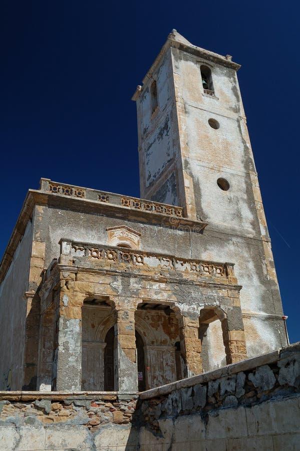 Abandoned Spanish Church Stock Photography